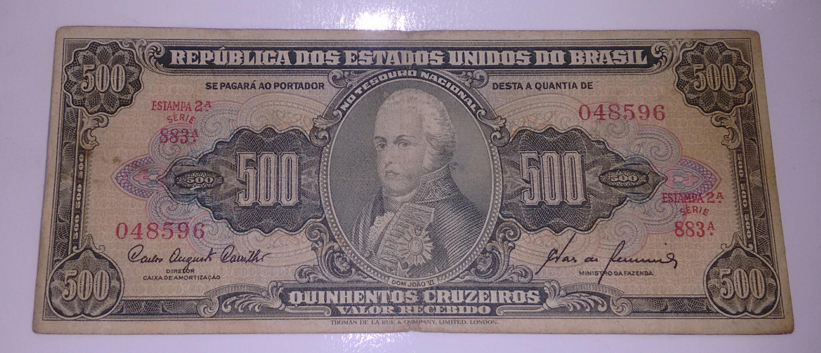 500 CRUZEIROS