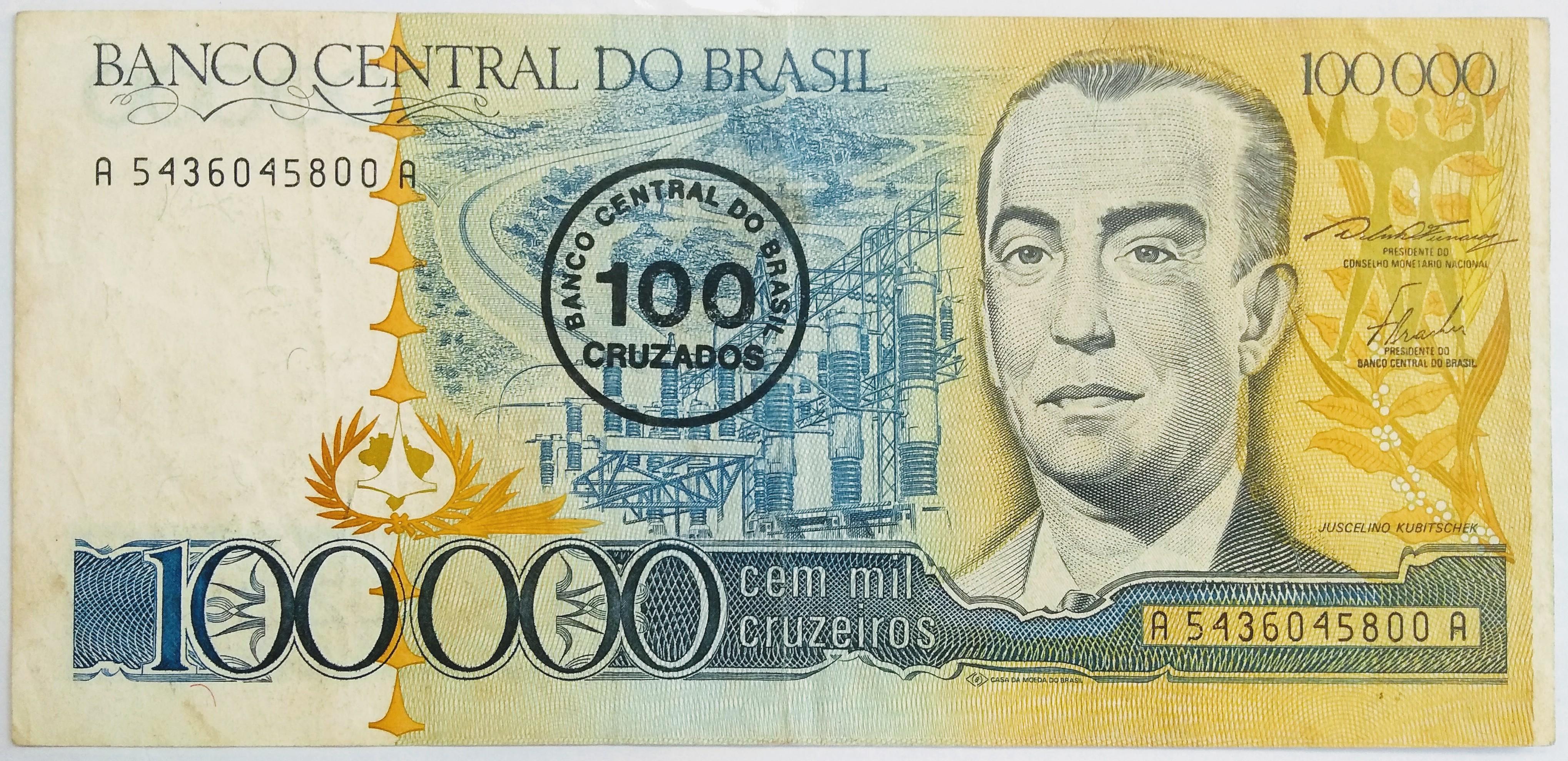 100 CRUZADOS