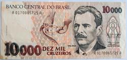 10000 MIL CRUZEIROS