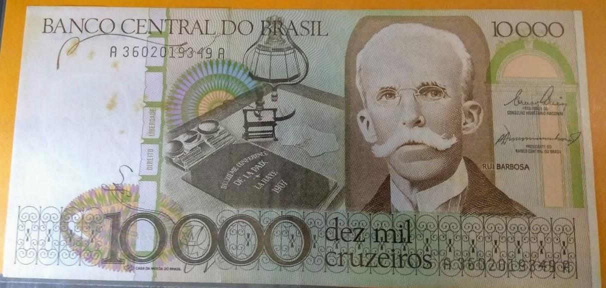 10.000 mil Cruzeiros