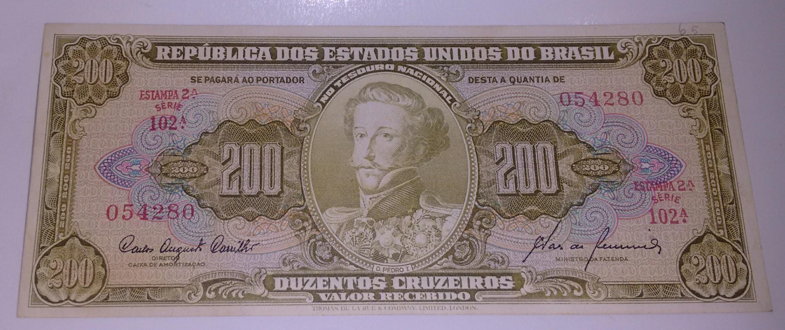 200 CRUZEIROS