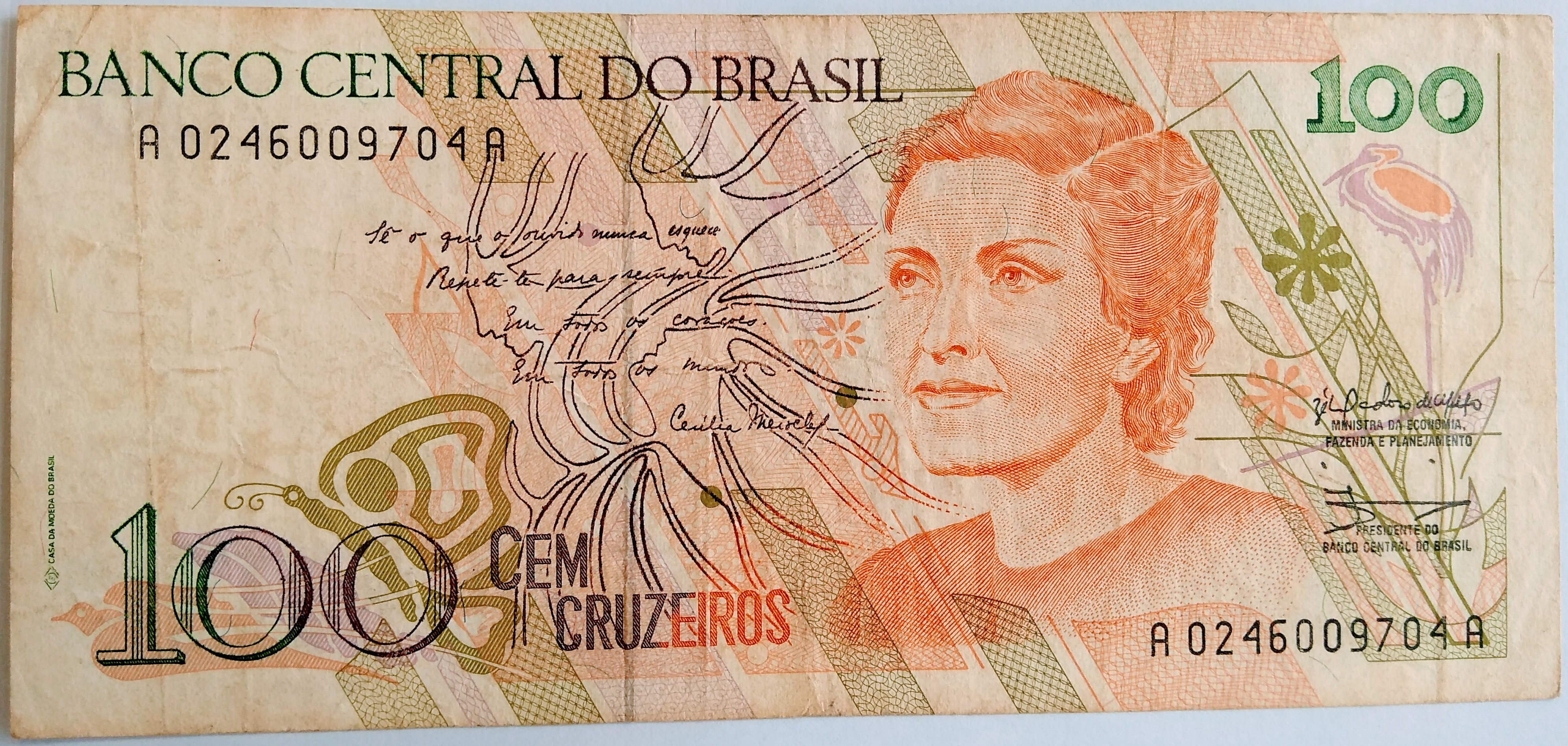 100 CRUZEIROS