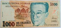 1000 CRUZEIROS REAIS