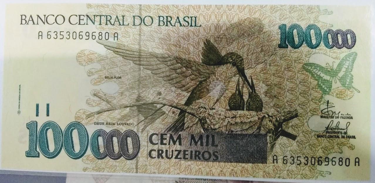 100.000 MIL CRUZEIROS