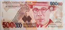 500.000 MIL CRUZEIROS