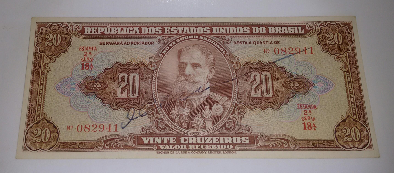20 CRUZEIROS