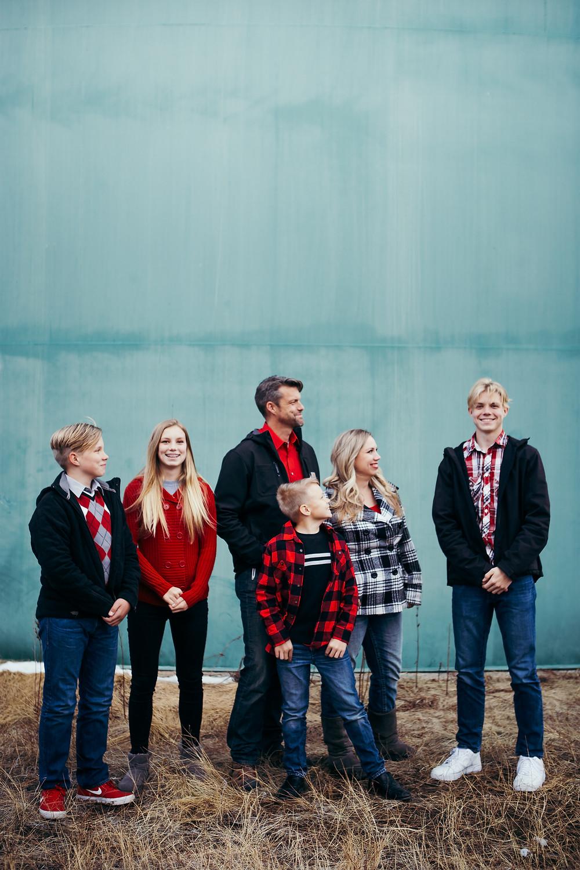 Arizona Family Photographer good with teenagers