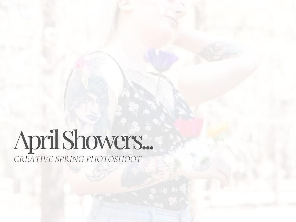 April Showers in Flagstaff, AZ