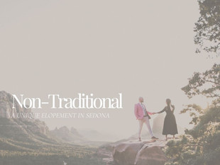 A Dreamy, Non-Traditional Elopement in Sedona