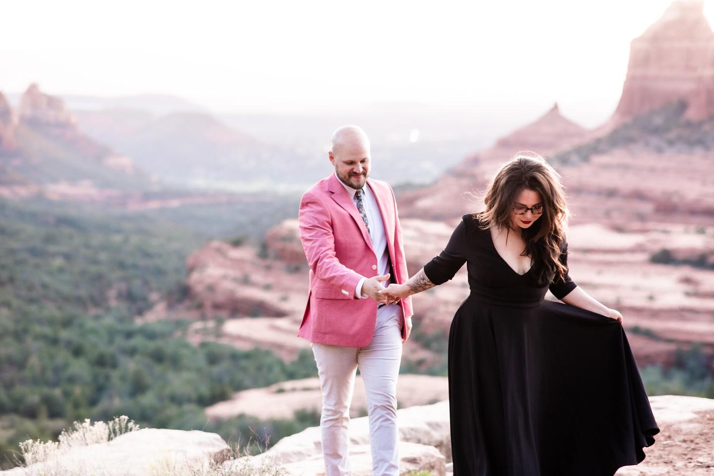 Flagstaff elopement photographer