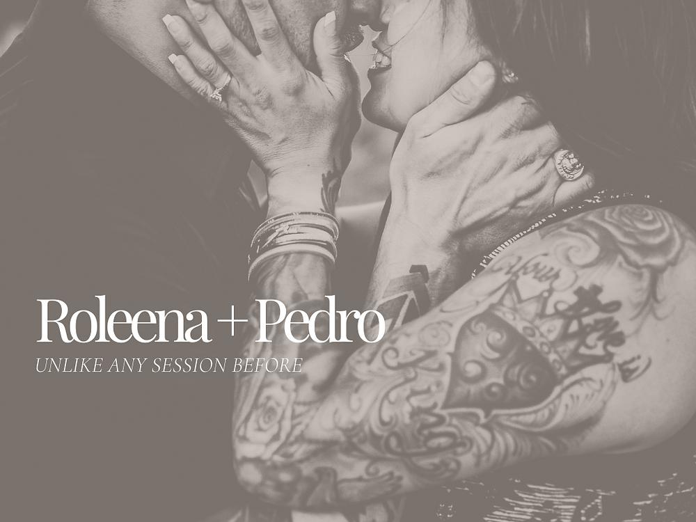 Edgy couple, wedding, engagement photoshoot in Sedona