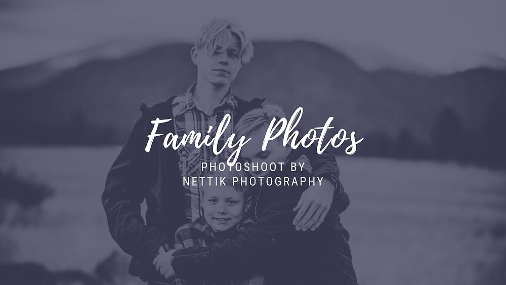 Flagstaff Family Photoshoot