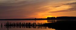 Sonnenuntergang in Polchow