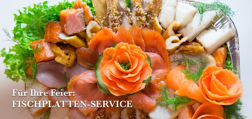 Bestellen Sie eine fertige Fischkiste oder stellen Sie sich eine Platte selbst aus unserem leckeren Räucherfisch zusammen.