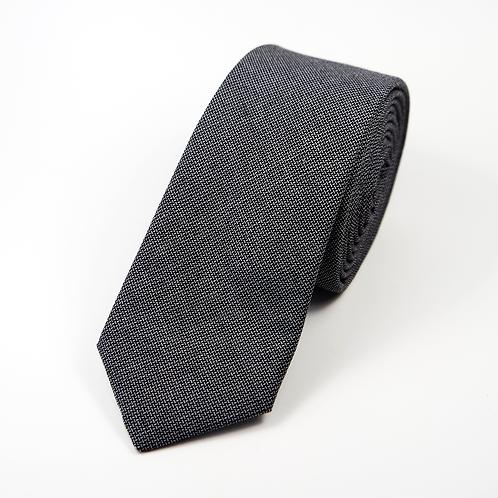 Houndstooth Tie (navy blue)