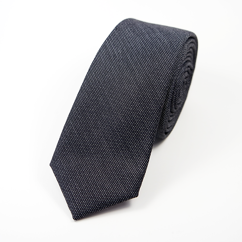 Bird's Eye Tie (navy blue)