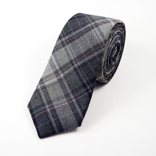 Madras Tie (grey)