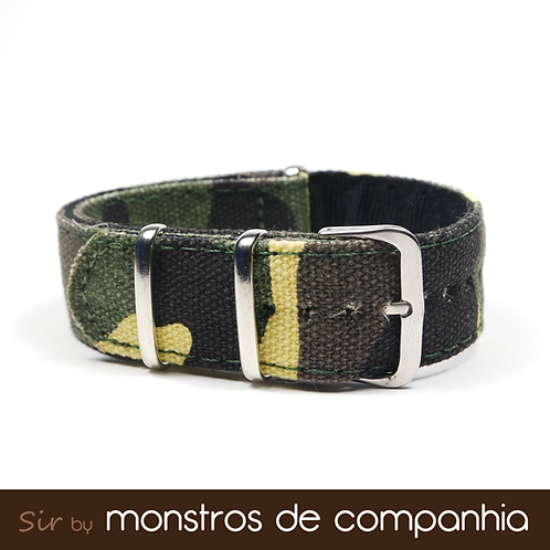 Camouflage NATO Watch Band
