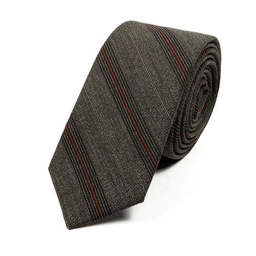 Sixties Striped Tie (brown/burgundy)