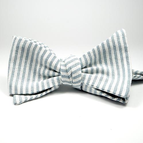 Ivy League Striped Tie (grey)