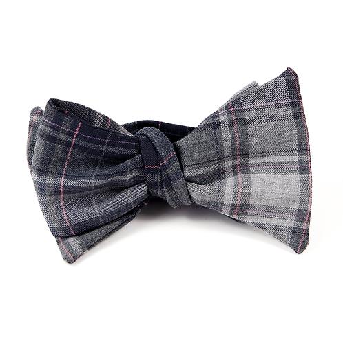 Madras Bowtie (grey)