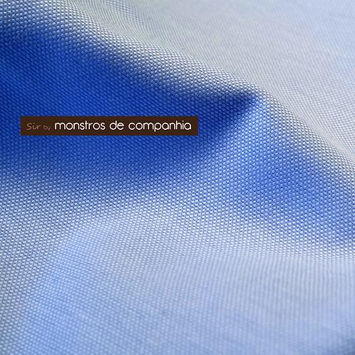 Blue Oxford Cotton Handkerchief