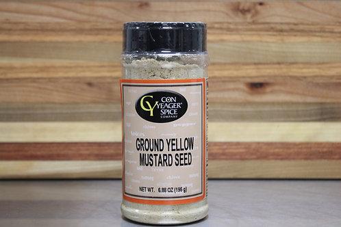 Ground Yellow Mustard Seed