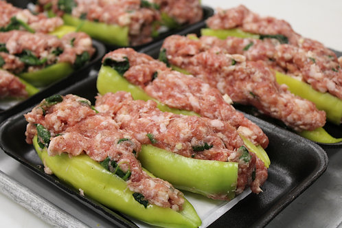 Hot Stuffed Peppers