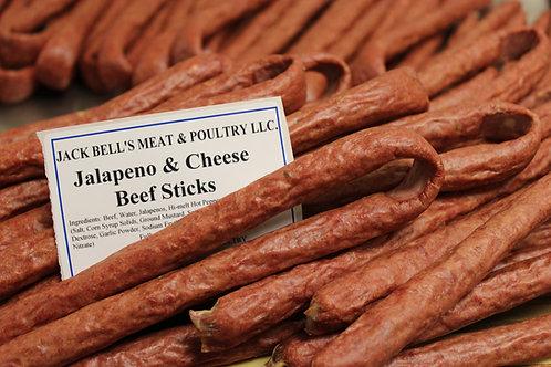 Jalapeno & Cheese Beef Sticks