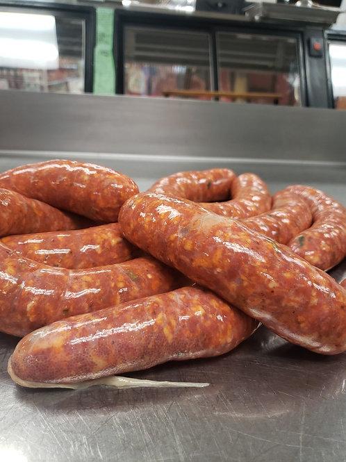 Hot Leek Sausage