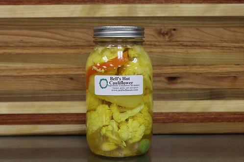 Hot Pickled Cauliflower