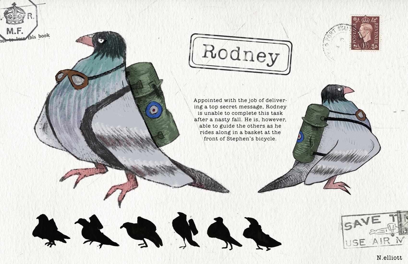 Rodney Character Sheet