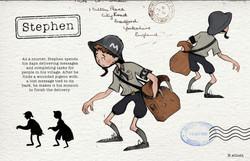 Stephen Character Sheet