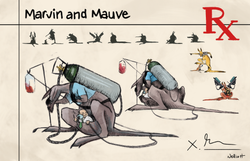 Marvin and Mauve Character Sheet