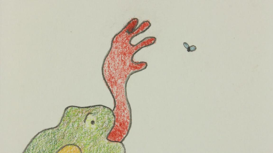 Flipbook Frog