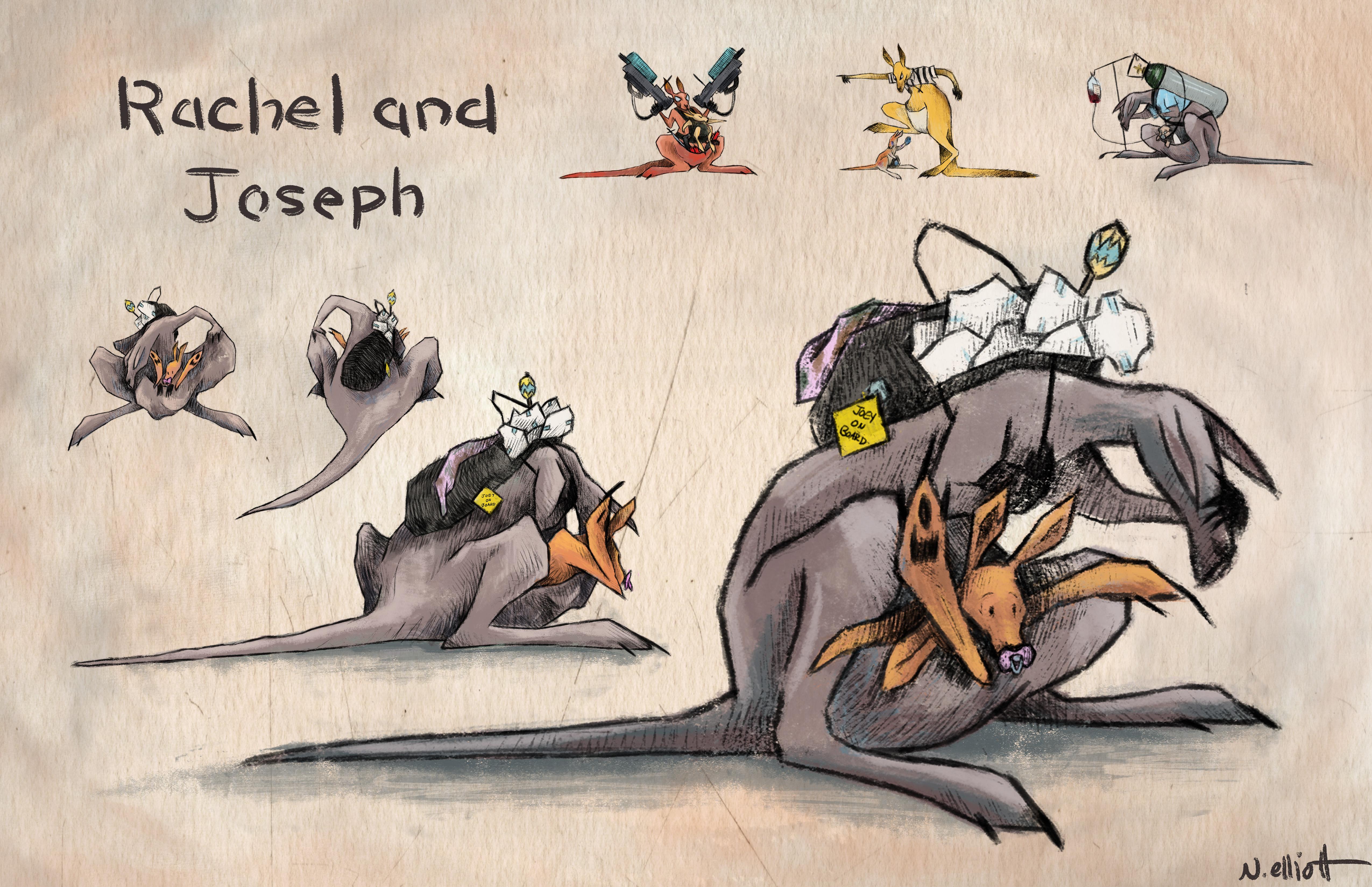 Rachel and Joseph