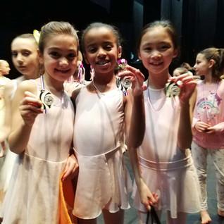 Nos plus jeunes médaillées du concours Jeunes talents pour demain