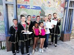 Les médaillées du concours CND 2021 de l'école de danse d'Elina Lohner