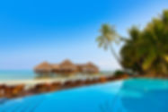 Pool on tropical Maldives island - nature travel background.jpg