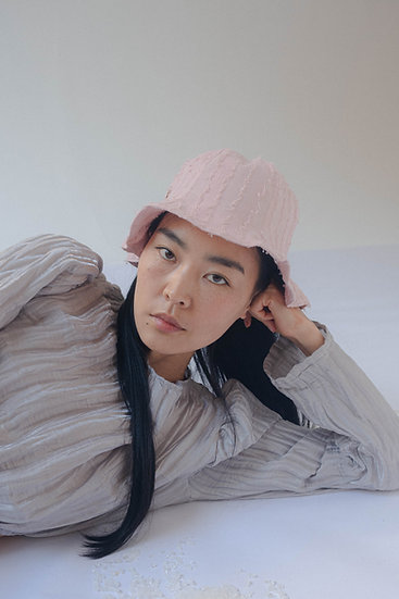 [Born to be loved] Bali bucket hat_rosy