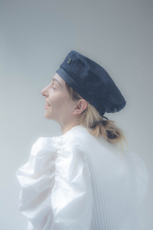 [Born to be loved] denim beret