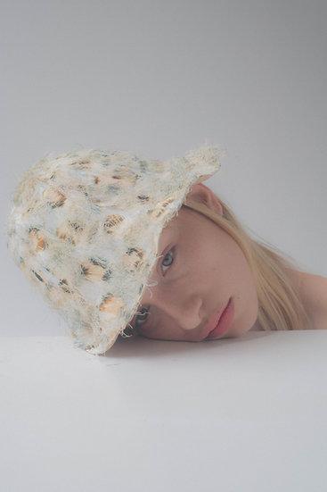 [Born to be loved] bjork hat_leopard fringe