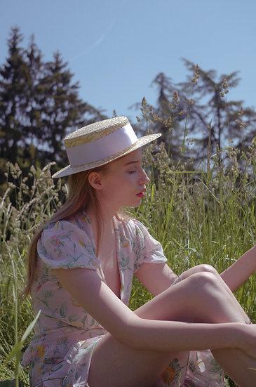 'violette' panama hat