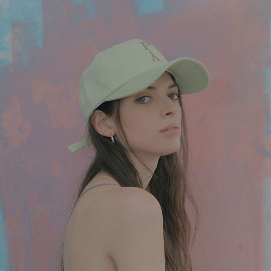'Natural beauty'  ballcap in mint