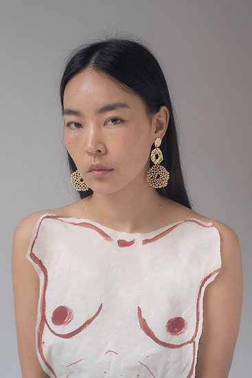 [Born to be loved] Vague earring
