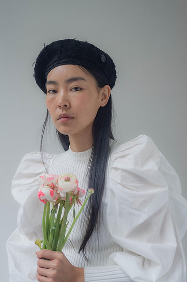 [Born to be loved] Bali beret_black