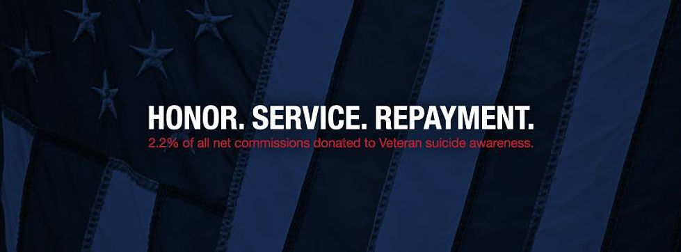 Honor. Service. Repayment. Our Mission