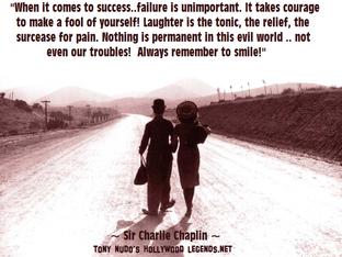 Chaplin Quote