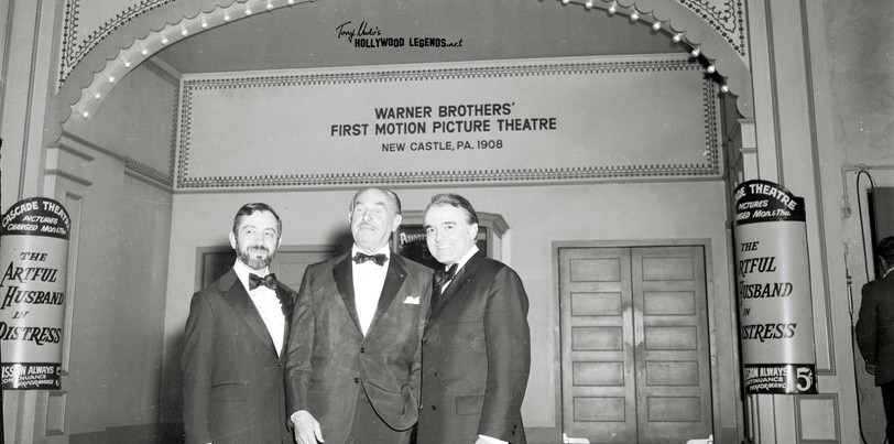 Jack re-visits the brothers 1st theater! 1965