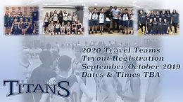 2020 Travel Team Tryouts